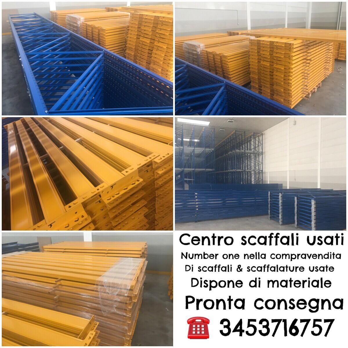Scaffalature Metalliche Magazzino Vicenza.Ritiriamo Scaffali Usati In Provincia Di Milano Bergamo Como