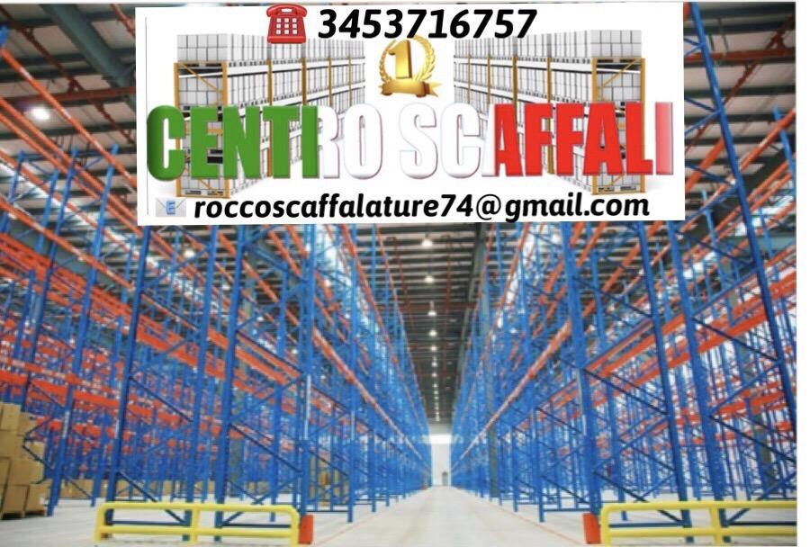 Scaffalature Per Supermercati Usate.Scaffalature Usate Da Fallimenti Scaffali Metallici Offerta