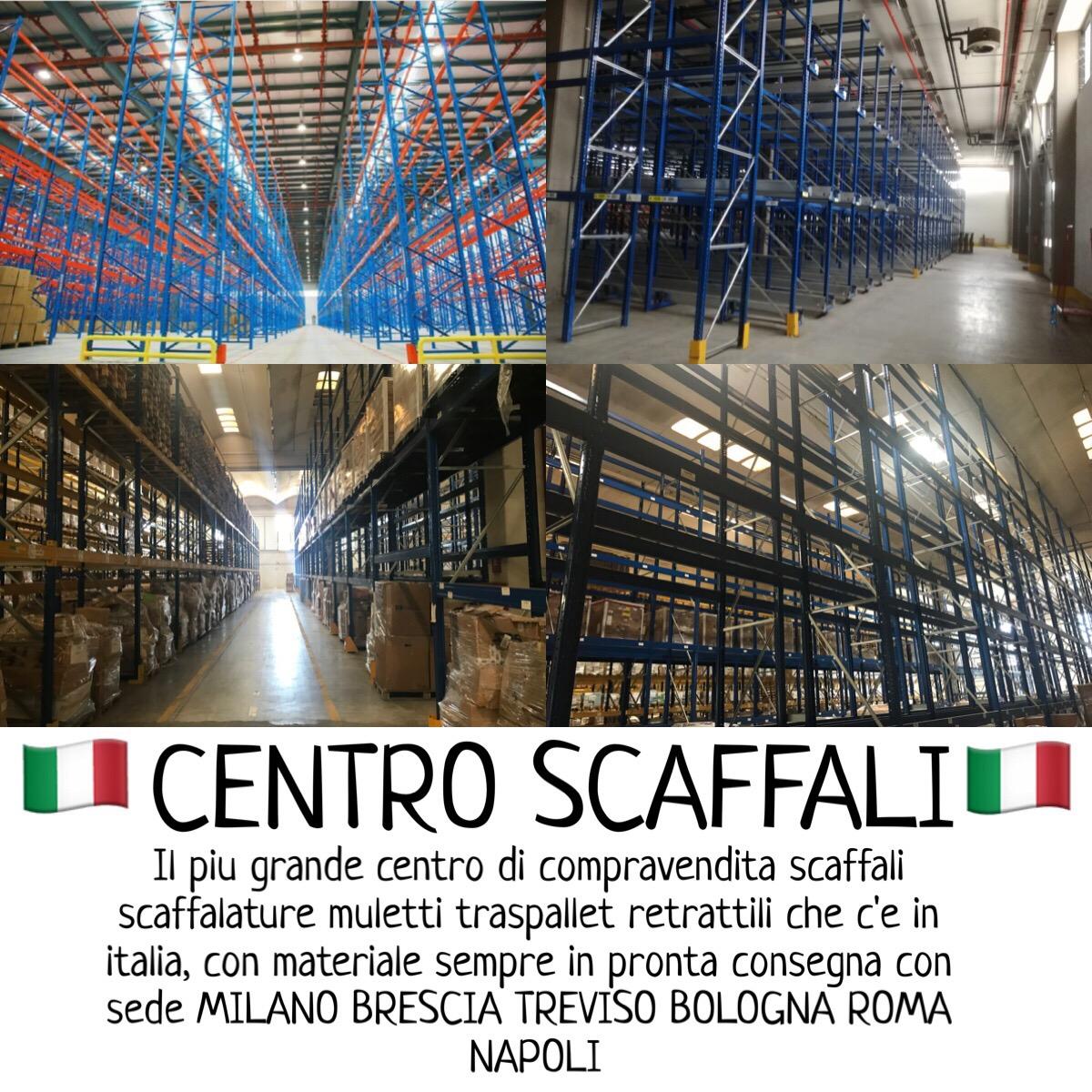 Scaffalature Metalliche E Componibili Napoli.Offerta Scaffali Portapallet Milano Bologna Treviso Padova Roma