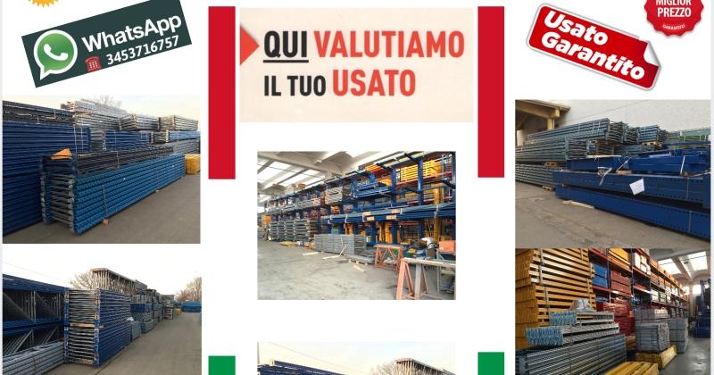 Scaffalature Per Pallets Usate.Scaffalature Porta Pallets Usati Scaffalature Usate E Nuove