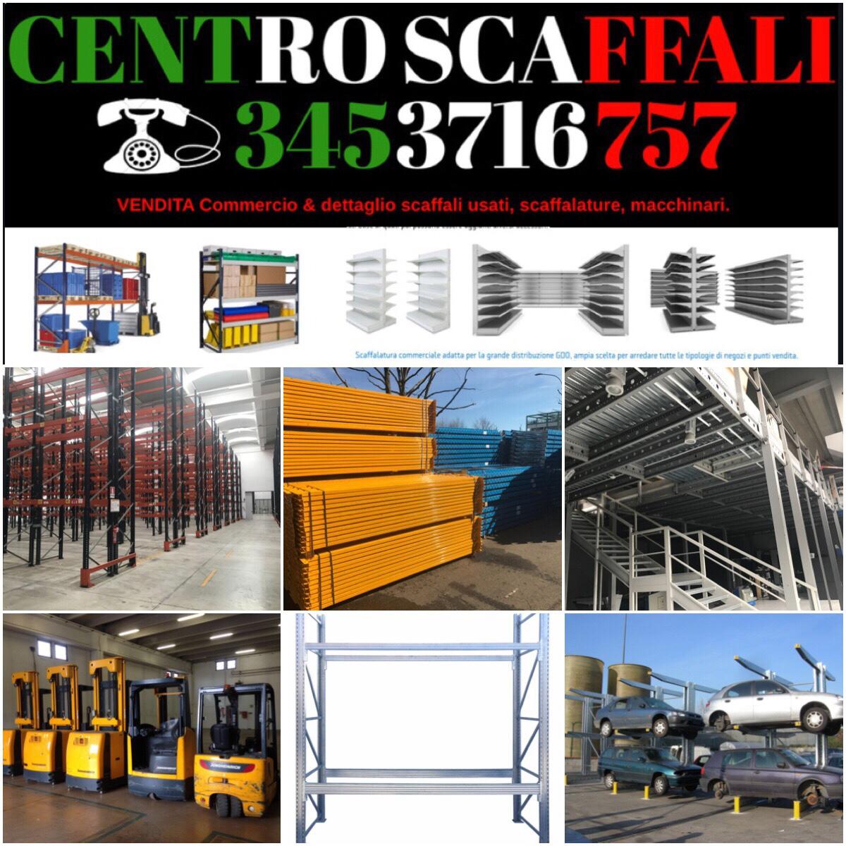 Scaffali Pallets Usati : Scaffali usati in tutta italia vendita e istallazione porta
